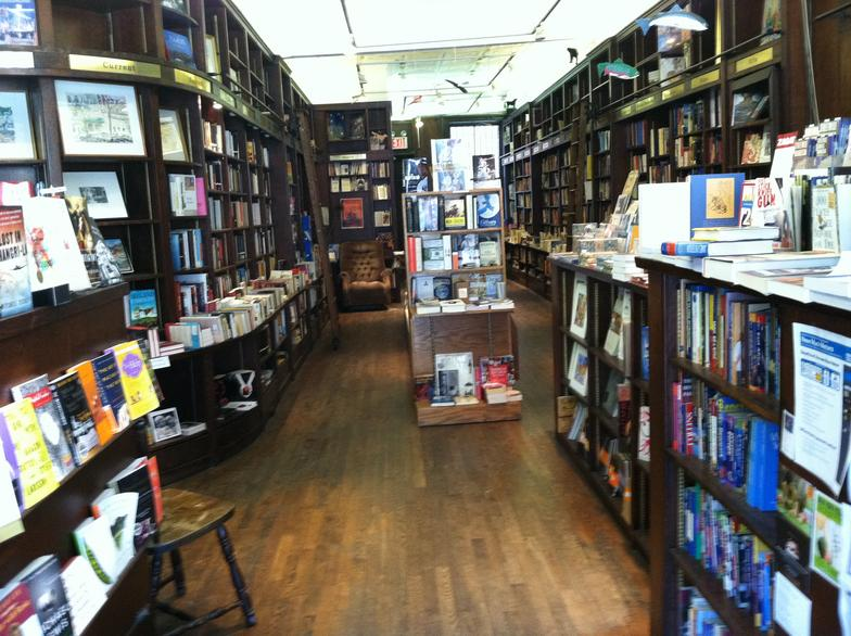 inside Logos Book Store